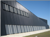 SolarWall® air heating system, Fire Training Centre - Toronto Airport