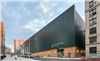 Bus garage with SolarWall® air heating system, New York City