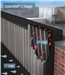 Principle, SolarWall® air heating system