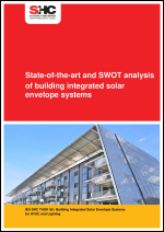 State-of-the-art and SWOT analysis of building integrated solar envelope systems